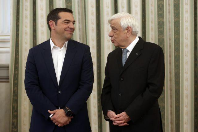 Οταν ο Τσίπρας εκθειάζει Παυλόπουλο | tovima.gr