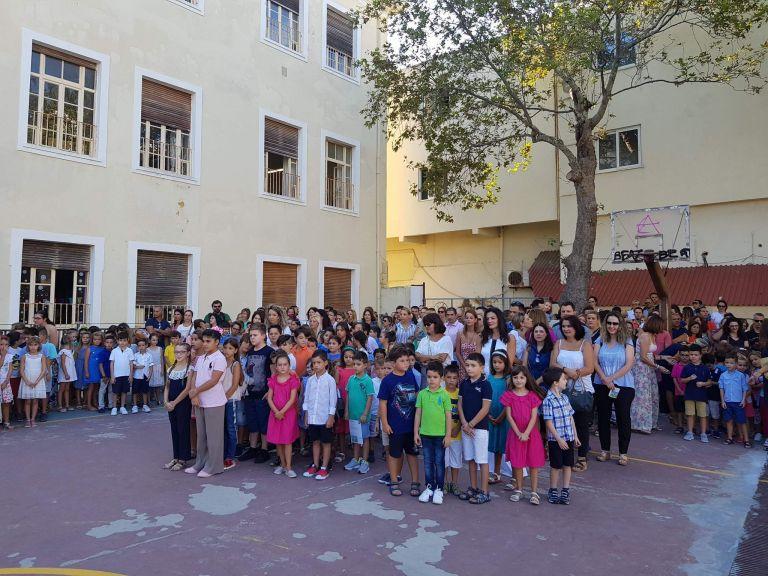 Στο 7ο Δημοτικό Σχολείο Ιλίου η υπουργός Προστασίας του Πολίτη | tovima.gr