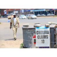 Κατάσταση εκτάκτου ανάγκης λόγω χολέρας στην πρωτεύουσα της Ζιμπάμπουε | tovima.gr