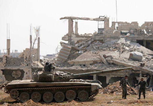 Ανατολική Συρία: Νεκρά από τζιχαντιστές, 21 στελέχη του συριακού στρατού | tovima.gr