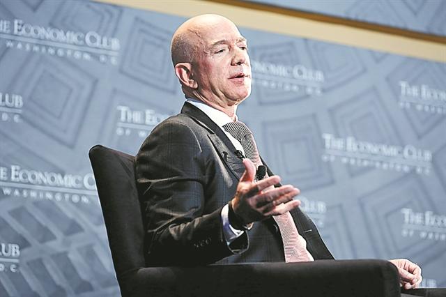 Λιγότερα θα κερδίζουν, παρά τις αυξήσεις, πολλοί υπάλληλοι της Amazon | tovima.gr