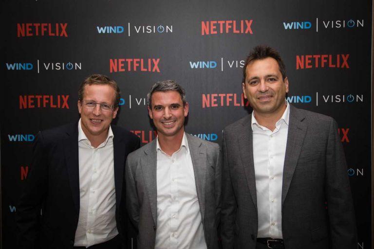 Στενότερη συνεργασία με Netflix, περισσότερες καινοτομίες για τη WIND VISION | tovima.gr