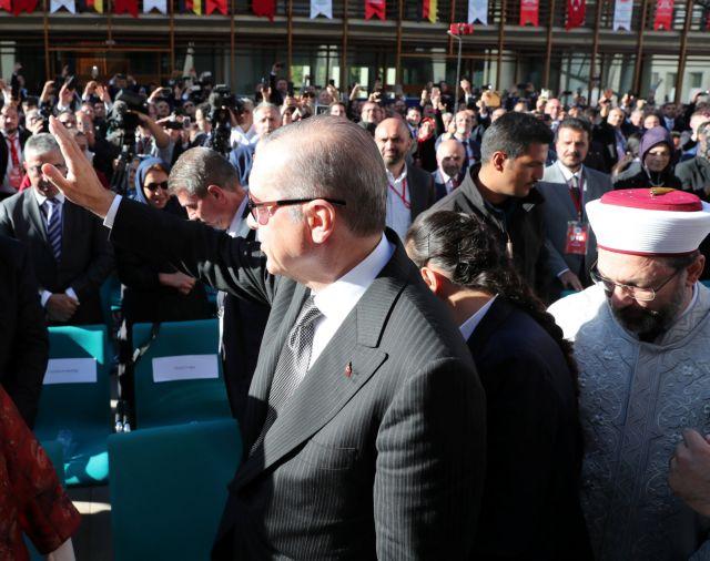 Γερμανία – Ερντογάν: Συζητήσαμε πως μπορεί να πολεμηθεί ο ρατσισμός και η ισλαμοφοβία   tovima.gr