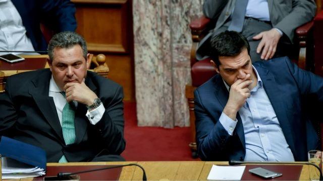 Καίγεται η συμμαχία Τσίπρα – Καμμένου | tovima.gr