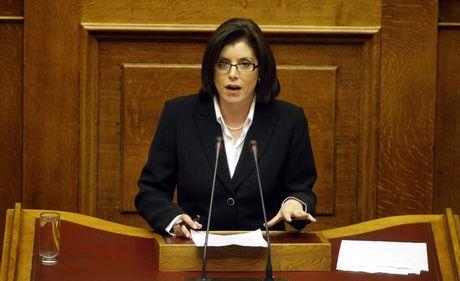 Ασημακοπούλου για συμφωνία Πρεσπών: Δεν θα την ψηφίσουμε είτε είμαστε κυβέρνηση, είτε αντιπολίτευση | tovima.gr