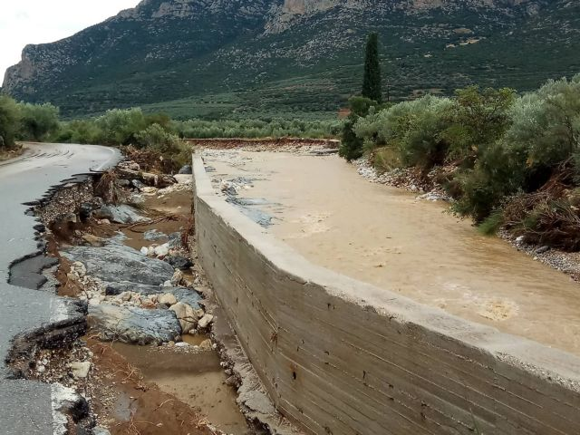 Κορινθία – Αργολίδα: Καταγραφή ζημιών από δήμους και Περιφέρεια | tovima.gr