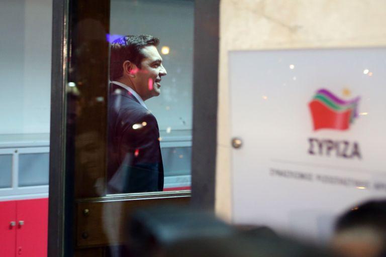 Συνεδρίαση του Πολιτικού Συμβουλίου του ΣΥΡΙΖΑ υπό τον Τσίπρα | tovima.gr