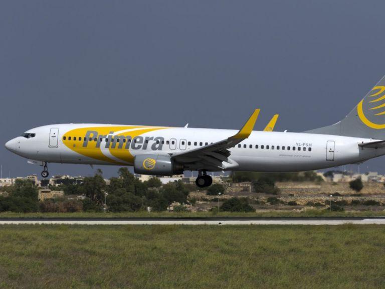 Εγκλωβισμένοι στα Χανιά 400 τουρίστες μετά το κανόνι από Primera Air | tovima.gr
