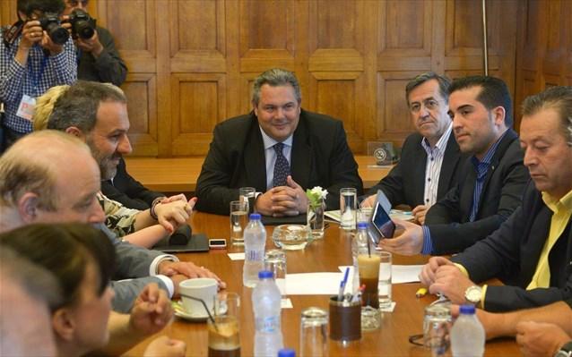 Συνεδριάζει η ΚΟ των ΑΝΕΛ υπό τον Καμμένο στον απόηχο του δημοψηφίσματος στην πΓΔΜ | tovima.gr