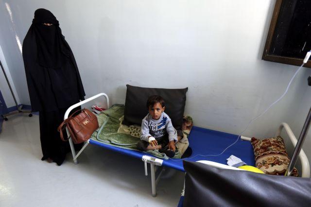 Η Χοντάιντα «επίκεντρο» της επιδημίας χολέρας στην Υεμένη | tovima.gr