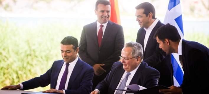 ΗΠΑ : Συνεχίζουμε να στηρίζουμε τη μη δημοφιλή Συμφωνία των Πρεσπών   tovima.gr