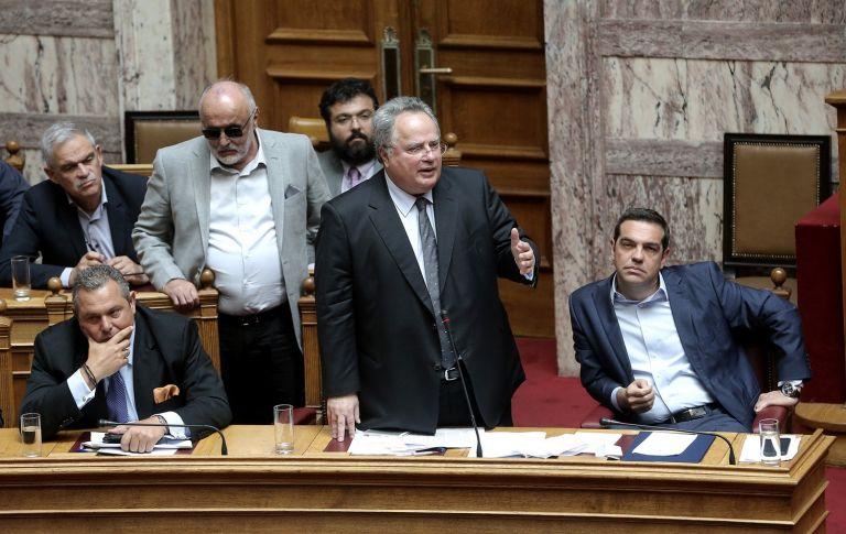 Ρήγμα στο πολιτικό «τρίγωνο» Τσίπρας – Κοτζιάς – Καμμένος | tovima.gr