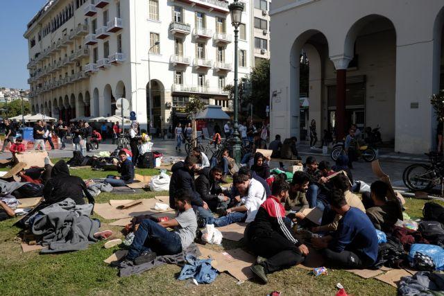 Θεσσαλονίκη: Στα Διαβατά οι πρόσφυγες της Αριστοτέλους   tovima.gr