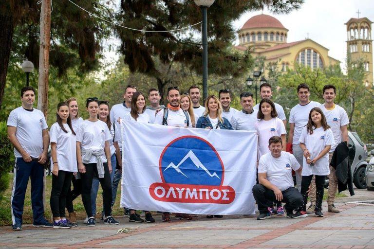 Η ΟΛΥΜΠΟΣ και οι μαραθωνοδρόμοι καθάρισαν τον Πηνειό τρέχοντας | tovima.gr