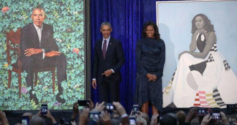 ΗΠΑ: Τα πορτραίτα του ζεύγους Ομπάμα εκτίναξαν την επισκεψιμότητα στη National Portrait Gallery   tovima.gr