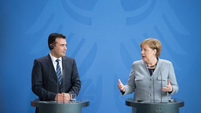 Επιστολή Μέρκελ σε Ζάεφ :  Ευκαιρία για ιστορική συνεννόηση η Συμφωνία των Πρεσπών | tovima.gr