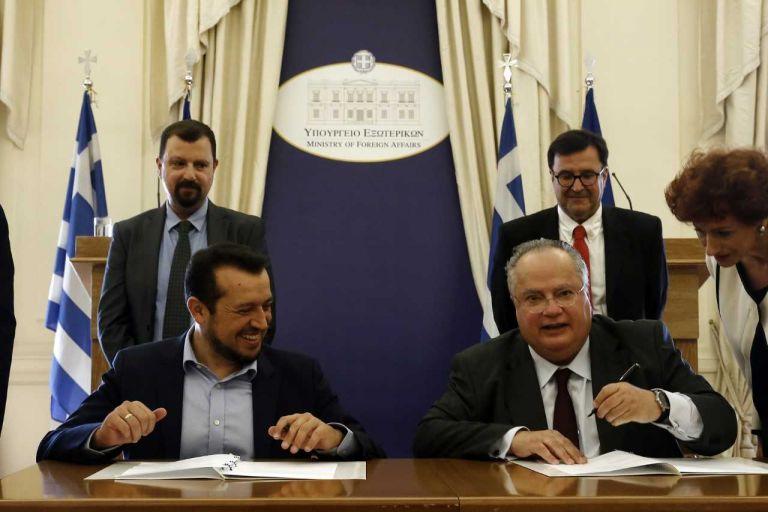 Μνημόνιο συνεργασίας υπουργείων Εξωτερικών και ΨΗΠΤΕ   tovima.gr