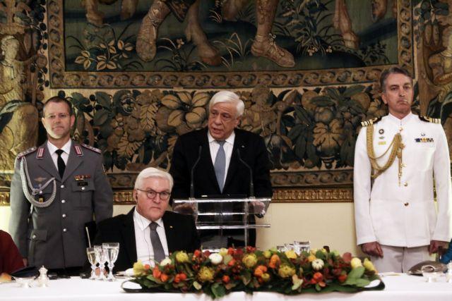 Θέμα γερμανικών αποζημιώσεων έθεσε ξανά ο Προκόπης Παυλόπουλος | tovima.gr