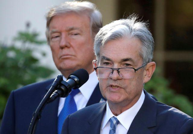 ΗΠΑ: Παραμένει στη θέση του ο πρόεδρος της Fed | tovima.gr