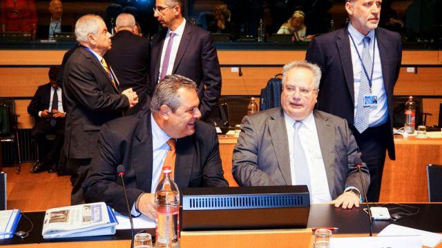 Ενημέρωση για πΓΔΜ-Κυπριακό ζητούν από Κοτζιά-Καμμένο γαλάζιοι βουλευτές | tovima.gr