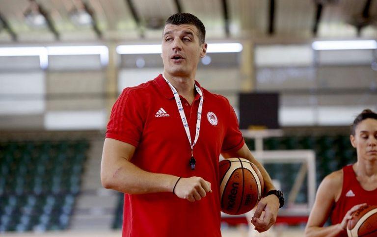 Παντελάκης: «Είναι μία μεγάλη επιτυχία του Ολυμπιακού, αλλά και του γυναικείου μπάσκετ» | tovima.gr