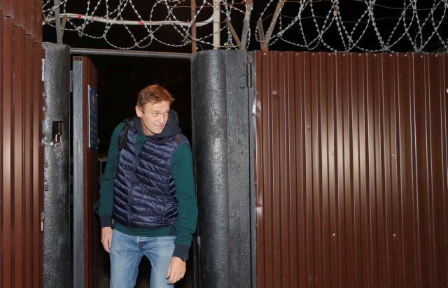 Αποφυλακίσθηκε ο Αλεξέι Ναβάλνι | tovima.gr
