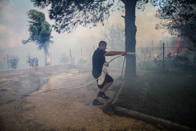 Θεσσαλονίκη: Υπό έλεγχο τέθηκαν οι πυρκαγιές σε Σίνδο και Μουδανιά   tovima.gr