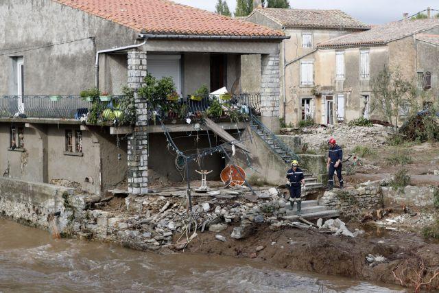 Σφοδρές βροχοπτώσεις στη Ν.Γαλλία: 11 νεκροί και 3 αγνοούμενοι | tovima.gr