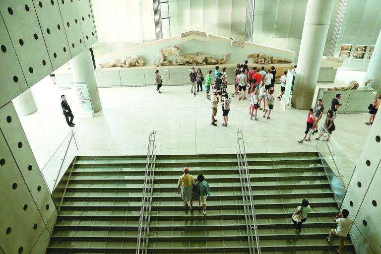 Ανοιχτό, με ελεύθερη είσοδο το Μουσείο της Ακρόπολης την 28η Οκτωβρίου | tovima.gr