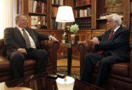 Συνάντηση Κοτζιά με τον Πρόεδρο της Δημοκρατίας