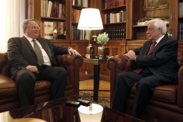 Συνάντηση Κοτζιά με τον Πρόεδρο της Δημοκρατίας | tovima.gr