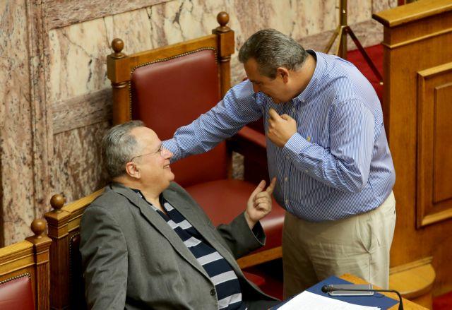 Επικίνδυνες σχέσεις: Κοτζιάς εναντίον Καμμένου στο υπουργικό συμβούλιο | tovima.gr