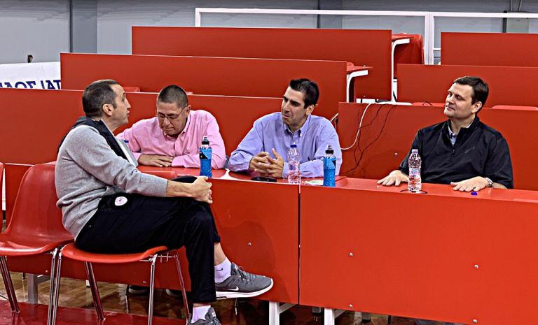 Ολυμπιακός: Με ανθρώπους των Γιούτα Τζαζ η προπόνηση | tovima.gr