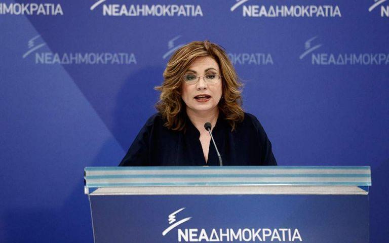Σπυράκη για Τσίπρα-Καμμένο : Προκαλούν τεράστια ζημιά στη χώρα για τις καρέκλες τους | tovima.gr