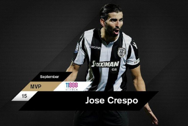 «Back to back» MVP του μήνα στον ΠΑΟΚ o Κρέσπο!   tovima.gr