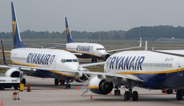 Ryanair: Ένα σκληρό Brexit θα μπορούσε να καθηλώσει τα αεροσκάφη μας για τρεις εβδομάδες | tovima.gr