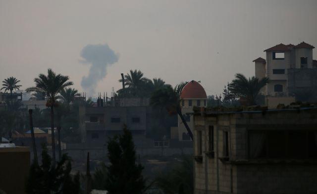 Γάζα: Μαχητικά του Ισραήλ πλήττουν στόχους μετά την εκτόξευση ρουκέτας | tovima.gr