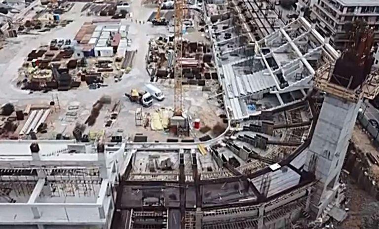 Τα έργα στην Αγιά Σοφιά μέσω drone! (vid)   tovima.gr