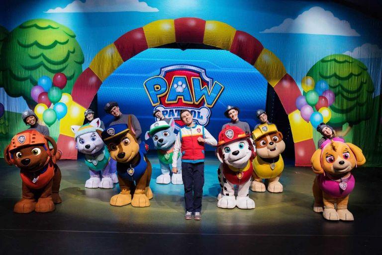 Παράταση για την παιδική παράσταση «PAW Patrol Live: Aγώνας διάσωσης» | tovima.gr