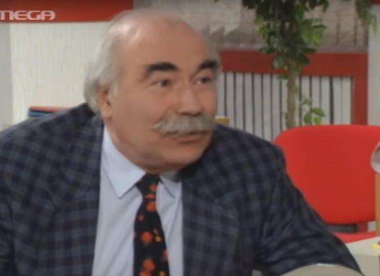 Στα 90 του πέθανε ο ηθοποιός Νίκος Κούρος   tovima.gr