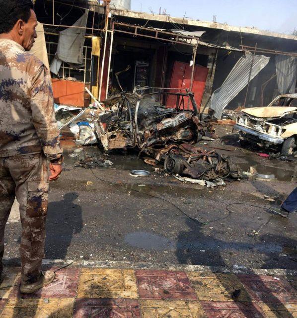 Μοσούλη : Εξι νεκροί και 26 τραυματίες σε επίθεση παγιδευμένου αυτοκινήτου   tovima.gr