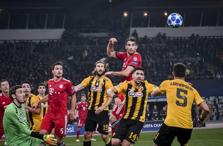 Η ΑΕΚ έτρεξε περισσότερο από την Μπάγερν, αλλά δεν έφτανε…   tovima.gr