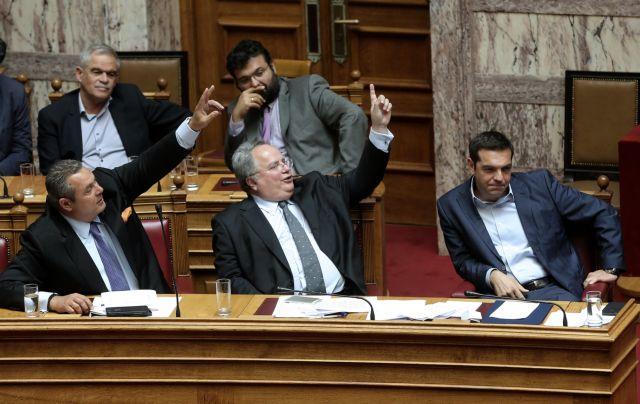 Καμμένος ενεφανίσθη: Διαψεύδει τον Κοτζιά για τον Σόρος   tovima.gr