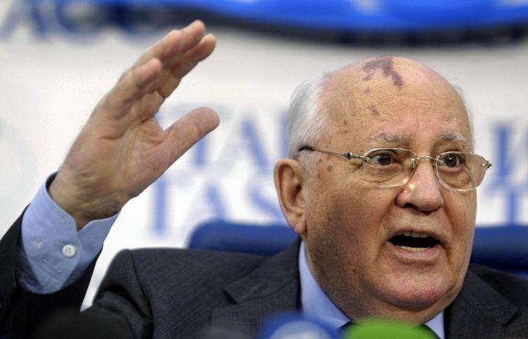 Γκορμπατσόφ: Άμεση απειλή κατά της ειρήνης η αποχώρηση των ΗΠΑ από τη συμφωνία για τα πυρηνικά   tovima.gr