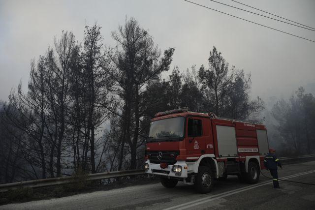 Σε ύφεση η φωτιά στη Σιθωνία, δεν υπάρχει ενεργό μέτωπο   tovima.gr