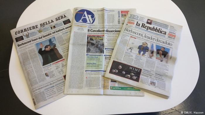 DW : Δύσκολο το έργο των δημοσιογράφων στην Ιταλία | tovima.gr