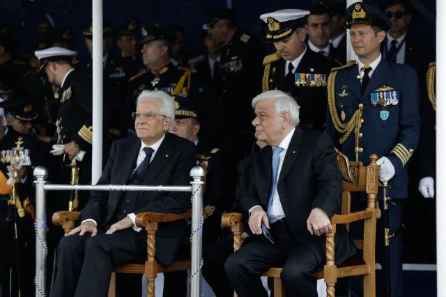 Ολοκληρώθηκε η στρατιωτική παρέλαση στη Θεσσαλονίκη | tovima.gr