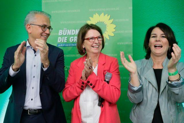 Kυβερνητική πλειοψηφία στην Έσση για Χριστιανοδημοκράτες και Πράσινους   tovima.gr