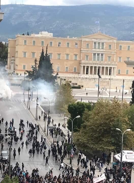 Μικροένταση στο μαθητικό συλλαλητήριο στο Σύνταγμα | tovima.gr