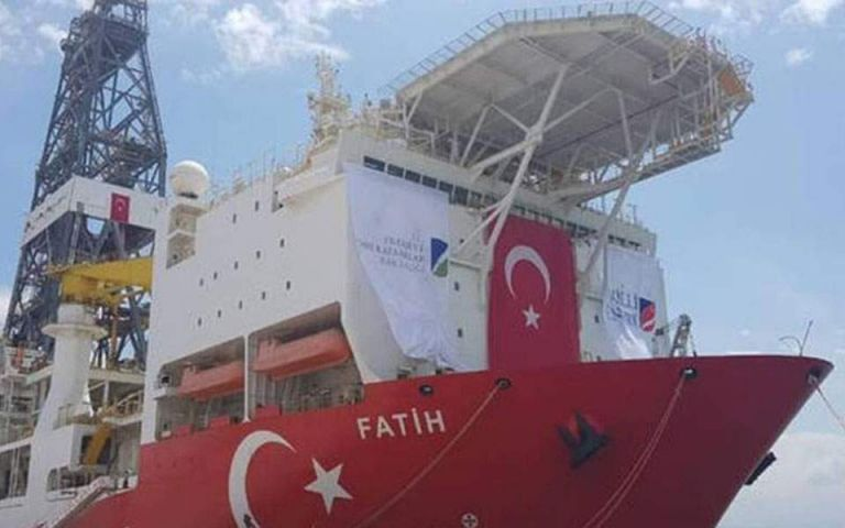 Turkish drilling vessel Fatih to commence gas, oil exploration on 31 October | tovima.gr